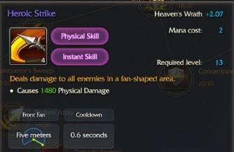 heroic strike