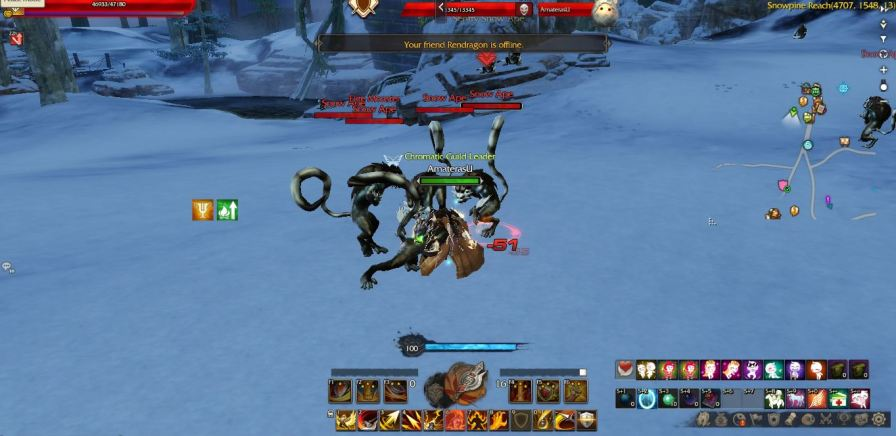 Animal hide droped by Snow ape & Ellite Snow Ape