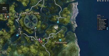 Arboreal location